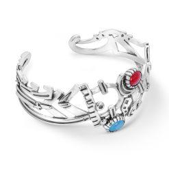 Sterling Silver Fritz Casuse Gemstone Bracelet